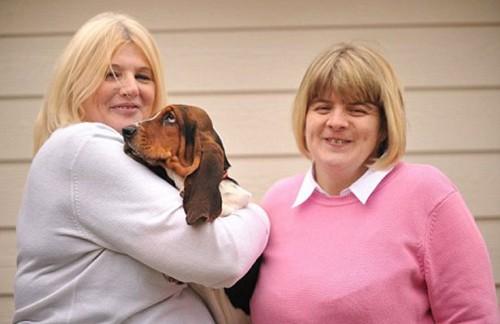 notizie animali, notizie divertenti, notizie strane, notizie commoventi, cani, Basset Hound, arti bionici per cani, protesi ortopediche per cani, zampe artificiali per cani